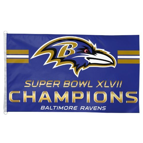 d17c58a7548 Baltimore Ravens Super Bowl Xlvii Champions 3-by-5 Foot Flag