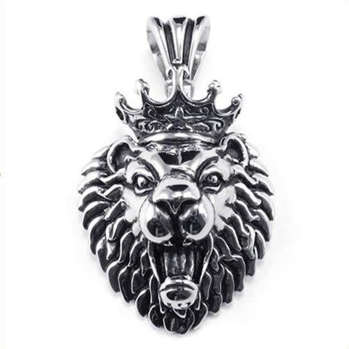 KONOV Stainless Tribal Pendant Necklace