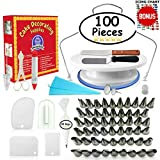 Cake Decorating Supplies (100 Piece Bundle)
