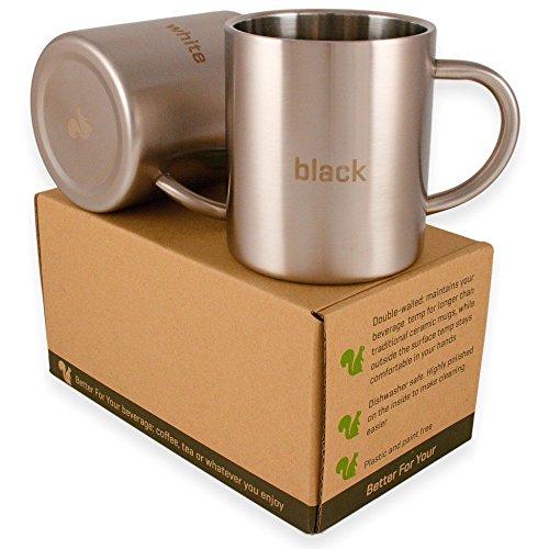 metal coffee mug set - 1