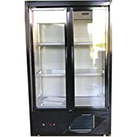 Two Door Flower Refrigerator Cooler Commercial Flowers Case Display FC2