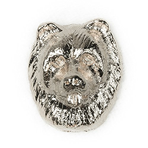 CHOW CHOW Made in U.K Artistic Style Dog Clutch Lapel Pin Collection