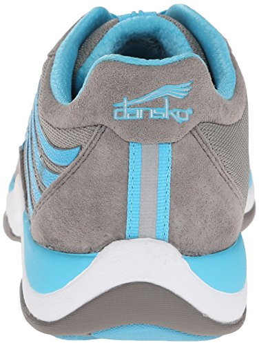 Suede Sneaker Shayla Fashion Women's Aqua Dansko Grey wZqtY1fx