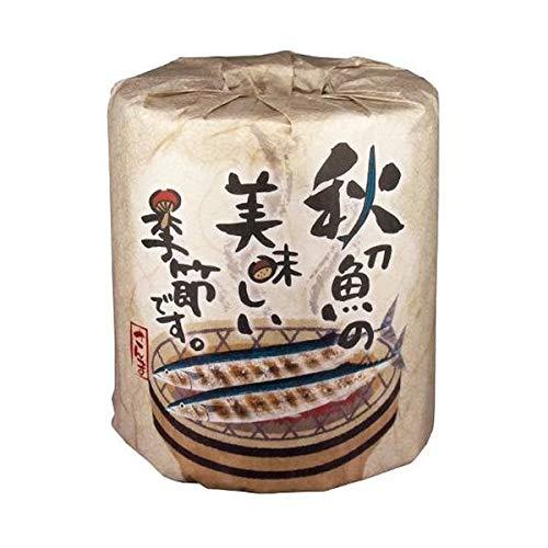 秋の販促品 秋刀魚の美味しい季節です トイレットペーパー 100個入 2963 B07PWR8JQJ