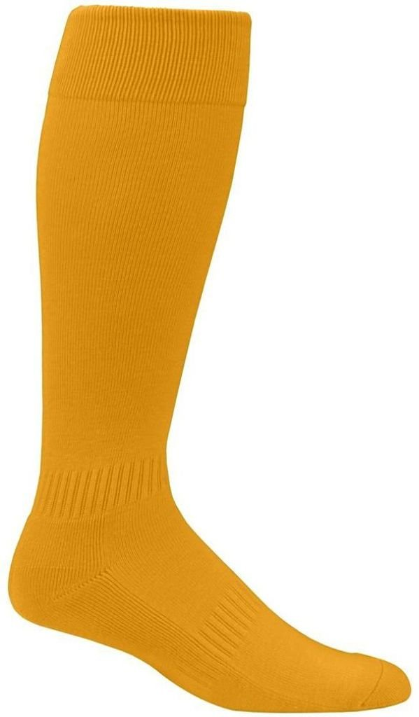 Augusta Sportswear Elite multi-sportソックス7 – 9 B00HLFLFVK Small|ゴールド ゴールド Small