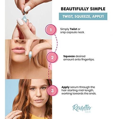 Remilia Keratin Hair Treatment   No Sulfate Hair Serum With Vitamin B5