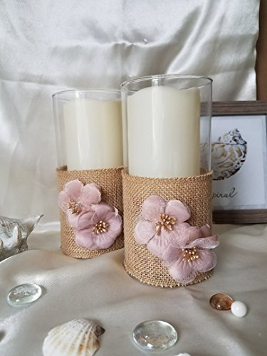 t Candle holder,Wedding Decor Candle Holders flowers ()