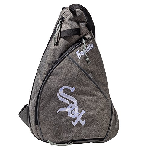 - Franklin Sports Chicago White Sox Slingback Baseball Crossbody Bag - Shoulder Bag w/Embroidered Logos - MLB Official Licensed Product