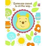 Disney Pooh Little Hunny Bunny Baby Shower Invitations...