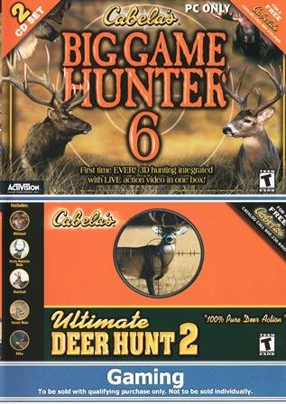 Deer Hunter Ii - Cabela's Big Game Hunter 6 & Ultimate Deer Hunt 2