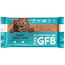 The GFB Gluten Free, Non-GMO High Protein Bars, Coconut Cashew Crunch, 2.05 Ounce (Pack of 12) Packaging May Vary