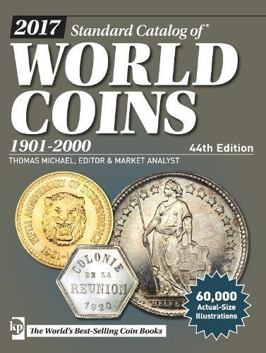 2017 Standard Catalog of World Coins, 1901-2000 from Krause Publications