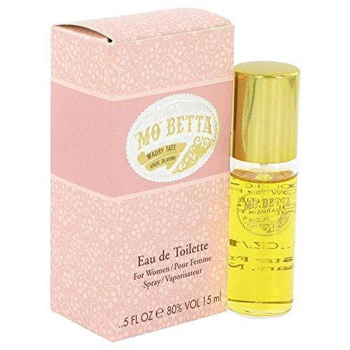 (Mo Betta by Five Star Fragrance Co. Eau De Toilette Spray .5 oz for Women - 100% Authentic)