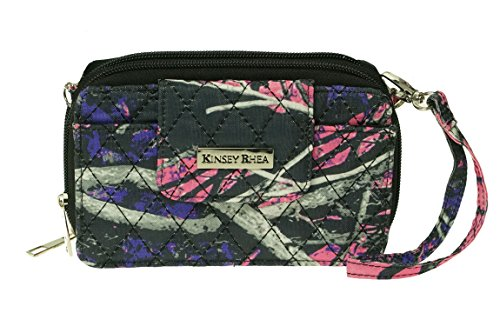 Muddy Girl Quilted Crossbody Handbag Kinsey Rhea (Quilted Clutch Purse)