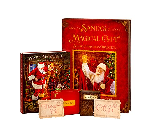 Santa's Magical Gift Set - With Audio Book, Magic Box and Wish Book