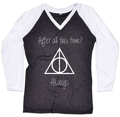 [After all this time always Long Sleeve Baseball Raglan Harry Potter T-Shirt Free Topcarnival Hair Band] (Dobby Harry Potter Costumes)