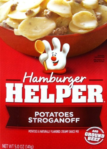 Betty Crocker POTATOES STROGANOFF Hamburger Helper 5oz (2 ()