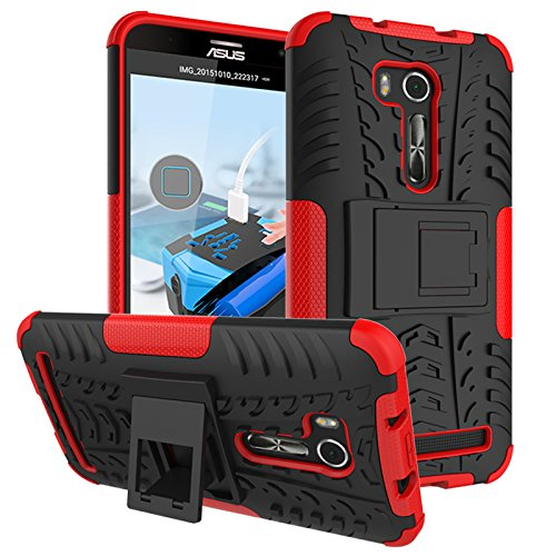 Slim Armor Hard Case for Asus Zenfone Go 5.5 ZB551KL (Black) - 4