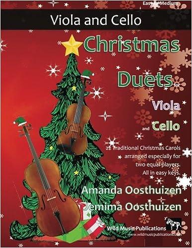 Traditional Christmas.Amazon Com Christmas Duets For Viola And Cello 22