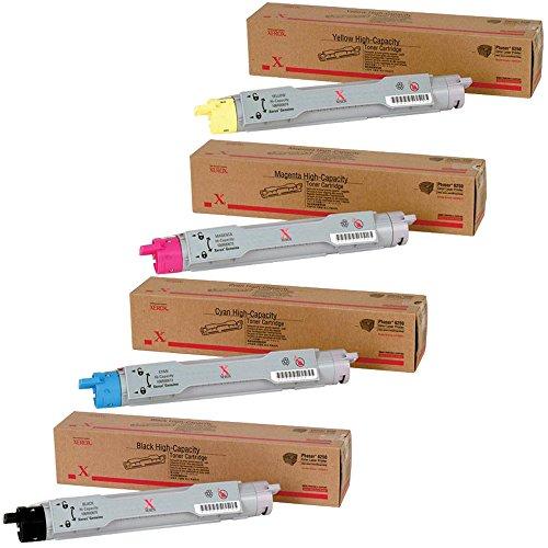 (Xerox Phaser 6250 High Yield Toner Cartridge Set)