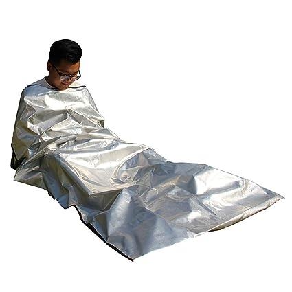 Saco de Dormir Al Aire Libre de 4 Capas Saco de Dormir de Emergencia a Prueba