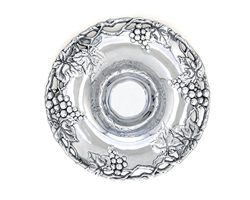 Arthur Court Grape 14-Inch Round Chip and Dip Tray by Arthur Court Designs B01N214462