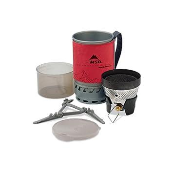 MSR WindBurner - Hornillos de camping - 1,0L gris/rojo 2017: Amazon.es: Deportes y aire libre