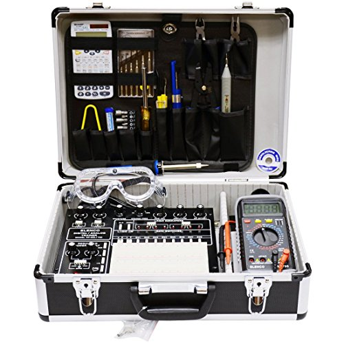 Elenco XK-700K Deluxe Digital / Analog Trainer Kit (Elenco Electronics Trainer compare prices)
