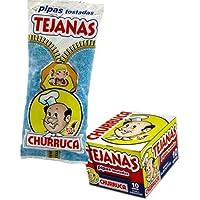 Churruca - Pipas Tejanas Executive - Pipas Tostadas - Caja 10 unidades