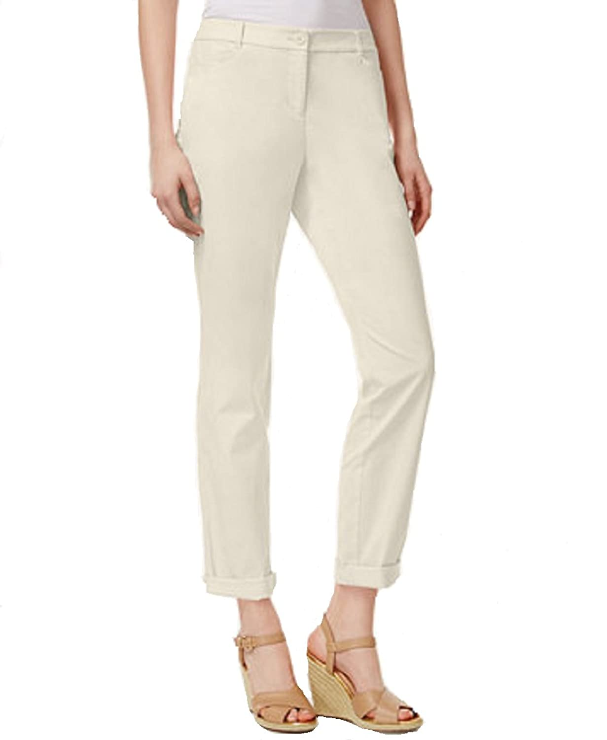 Wholesale Charter Club Petite Slim-Fit Rolled Chino Pants Sand 16P supplier