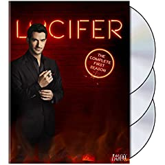 Lucifer: The Complete First Season arrives on Blu-ray and DVD August 23rd from Warner Bros.