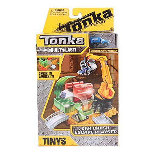 Tonka Tinys Car Crush Excape Playset