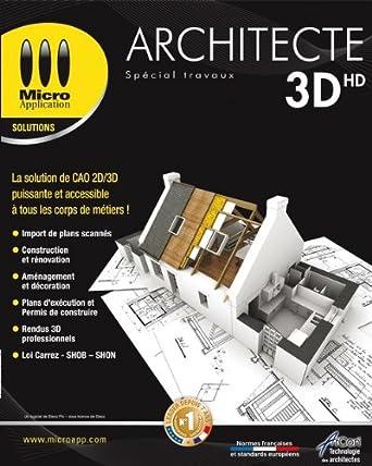 Architecte 3D HD   Spécial Travaux