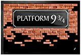 1art1 Brick Walls Door Mat Floor Mat - Platform 9 3/4 (24 x 16 inches)