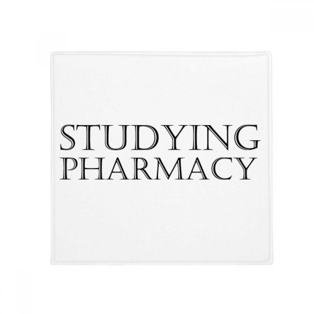 DIYthinker Short Phrase Studying Pharmacy Anti-Slip Floor Pet Mat Square Home Kitchen Door 80Cm Gift
