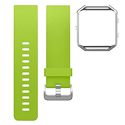 For Fitbit Blaze Bands, SKYLET Silicone Replacement Accessories Wristband for Fitbit Blaze Smart Watch Bands (No Tracker)