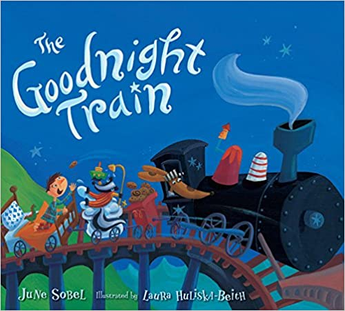 The Goodnight Train Board Book...
