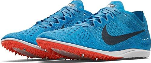 Nike Menns Zoom Matumbo 3 Friidrett Sko Oss Fotball Blå / Blårev-lys Crimson