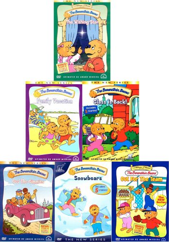 The Berenstain Bears: The Wishing Star / Family Vacation / Class is Back / Out for the Team / Get the Gimmies / Snowbears (Six-Pack)