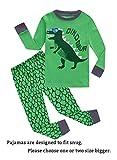 Choco Moon Dinosaur Baby Boys Long Sleeve Pajamas