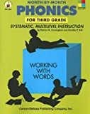 Month-by-Month Phonics for Third Grade: Systematic, Multilevel Instruction for Third Grade