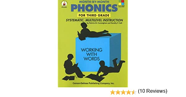 Month-By-Month Phonics for Third Grade: Systematic, Multilevel ...