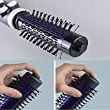 Finly Rotating Hair Brush Dryer Comb Style Hair