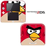 Angry Birds Decorative Video Game Decal Cover Skin Protector for Nintendo 2Ds