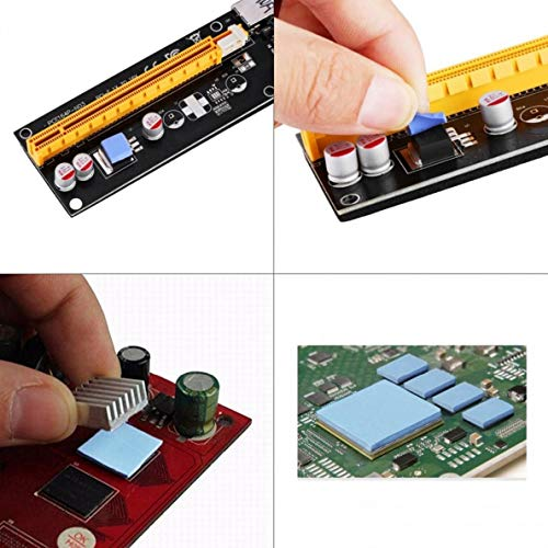 145mm x 145mm x 1.5 mm Thermal Pad, Thermal Compound for Coolers PS4 CPU GPU Heatsink IC Chipset Northbridge, Easy to Apply