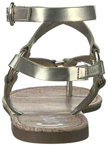 Toe Circus Split Bree Jute Casual Edelman Sam Ankle Womens Sandals by Strap XqBYXr6