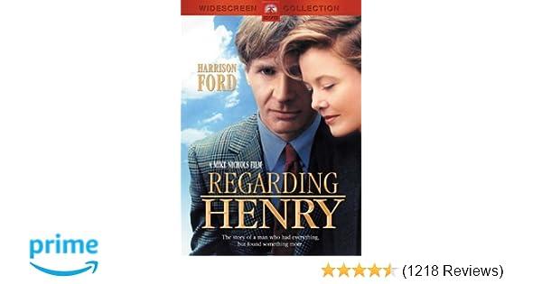 Amazon com: Regarding Henry: Harrison Ford, Annette Bening, Michael