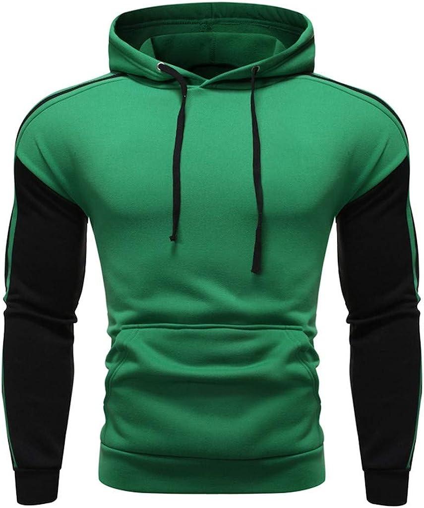 Fastbot Mens Blend Sweatshirt Autum Winter Long Sleeve Hooded Printed Outwear Tops Blouse