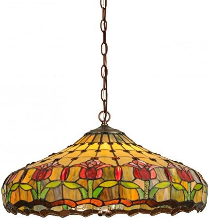 Meyda Tiffany 148431 Lighting, 22 Width, Finish Custom,Mahogany Bronze