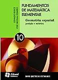 capa de Fundamentos de Matemática Elementar - Volume 10